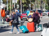 Frontier pedestrian crossings into Gibraltar bordering 100,000 weekly