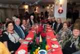 Residents of Seamaster Lodge celebrate their first Christmas in their new homes