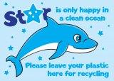 Meet 'Star' - the plastic-eating, aquatic mammal