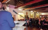 Capacity crowd attend 'Creating a Village' event
