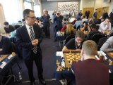 DCM visits Gibraltar International Chess Festival