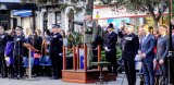 Police recruits in passing-out parade