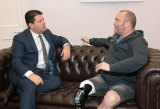 Picardo pledges over £5600 to 'the Rowing Marine'
