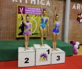 Gib gymnasts in competition
