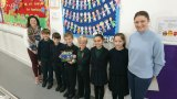 'Zipp's Trips' book presented to all Years 2 and 3 children