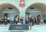 GHA Ophthalmic Clinic team thanks the University of Gibraltar