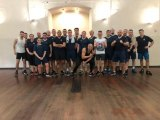 Minister Costa attends RGP recruits 'tough' training session