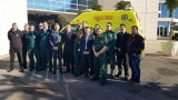 Handover of emergency ambulance services from GFRS to GHA