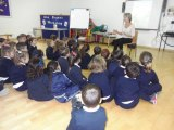 First time an author visits St Paul's school