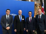 Garcia at EU Parliament in Strasbourg on Brexit business
