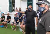 Some police training is unpleasant -  but necessary!
