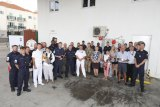 BIG BREW-UP AT ROYAL NAVY GIBRALTAR SQUADRON