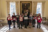 High standard for children's Christmas Card Competition