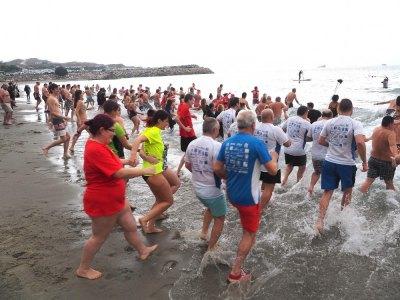Polar Bear charity swim