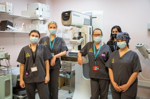 GHA resumes Breast Screening Programme as patients are welcomed back to St Bernard's Hospital