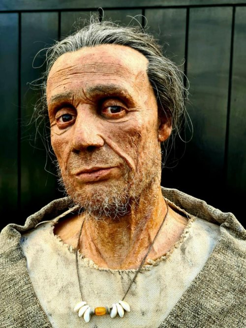 Thousand years old Bronze age Gibraltar man