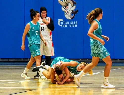 Gibraltar women's basketball lose against Menorca