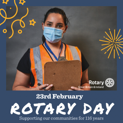 Rotary Club of Gibraltar celebrate Rotary Day today