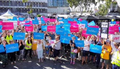 Pro-Life Movement rally