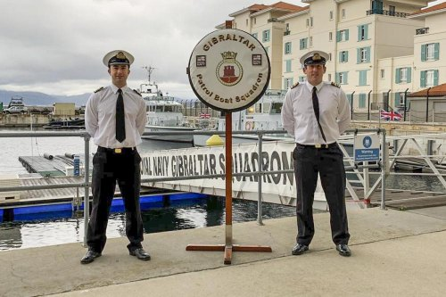 CHANGE OF COMMAND FOR ROYAL NAVY GIBRALTAR SQUADRON