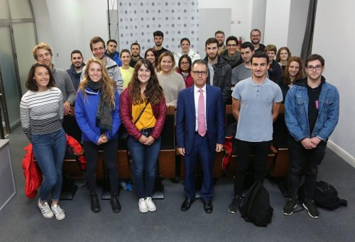 Gibraltar enjoys greater self-government than any region of Europe, Garcia tells Spanish students