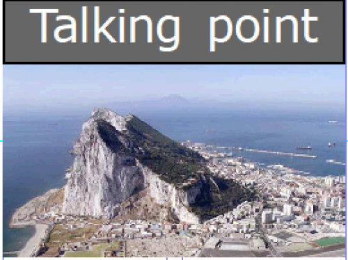 SPAIN SAYS GIBRALTAR WATERS ARE SPANISH