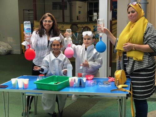 Science Week at St Mary's First School goes with a bang!