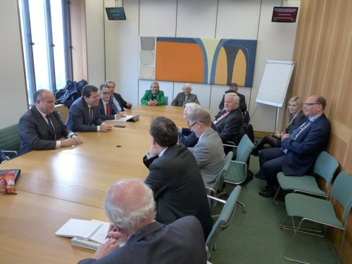 MPs briefed on Gibraltar issues