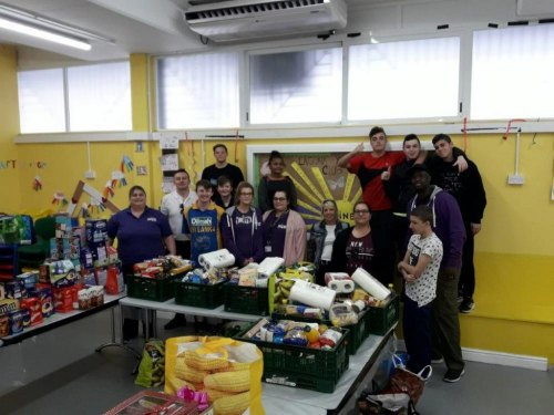 Laguna Youth Club Care in the Community Hamper Project