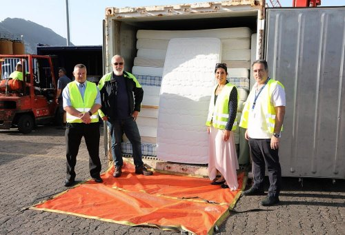 Donation of mattresses to Care Agency