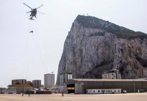 Stunning swoop on Gibraltar airport by Royal Marine commandos