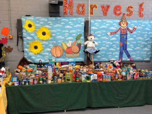 Governor's Meadow First School Celebrates Harvest Time