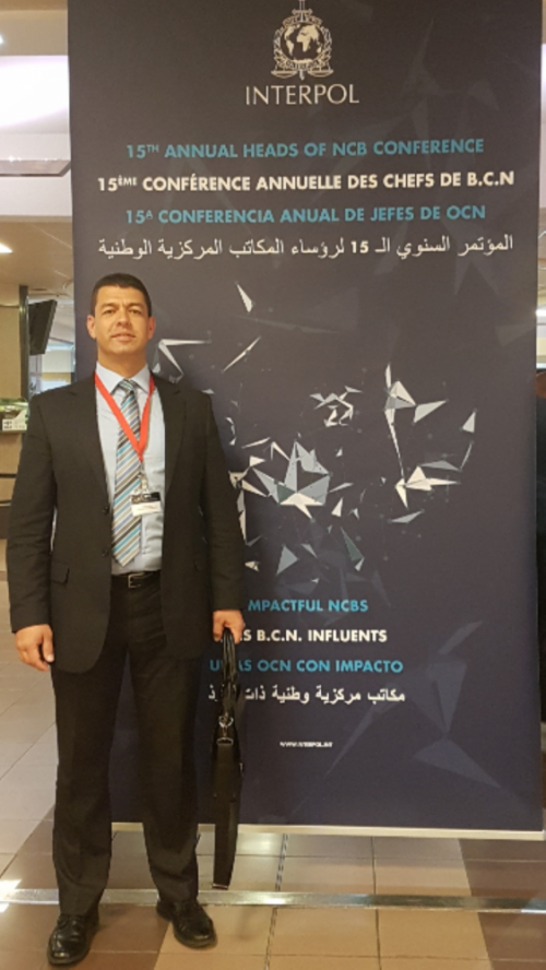 RGP AT INTERPOL CONFERENCE