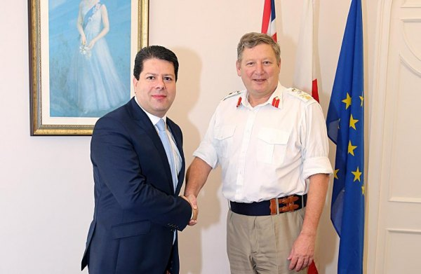 Joint Forces Command chief in Gibraltar