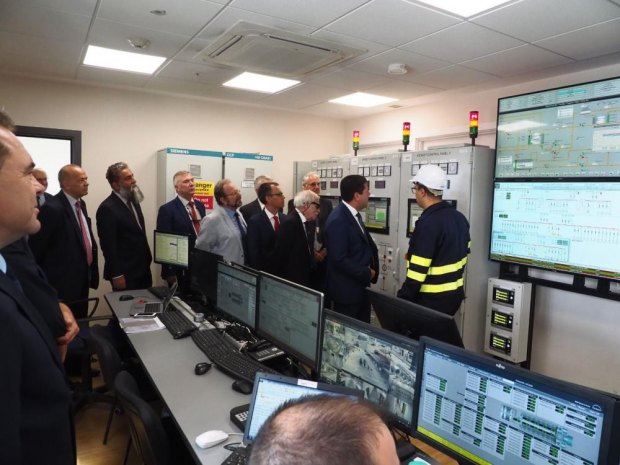 PHOTOrama: Official opening of the new LNG Power Station