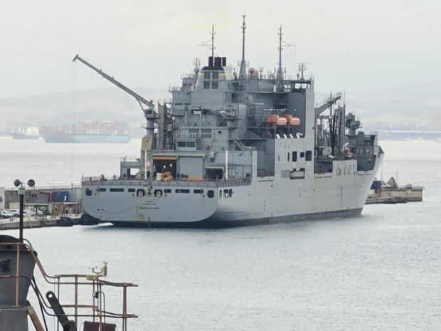 US Navy ship arrives in Gibraltar