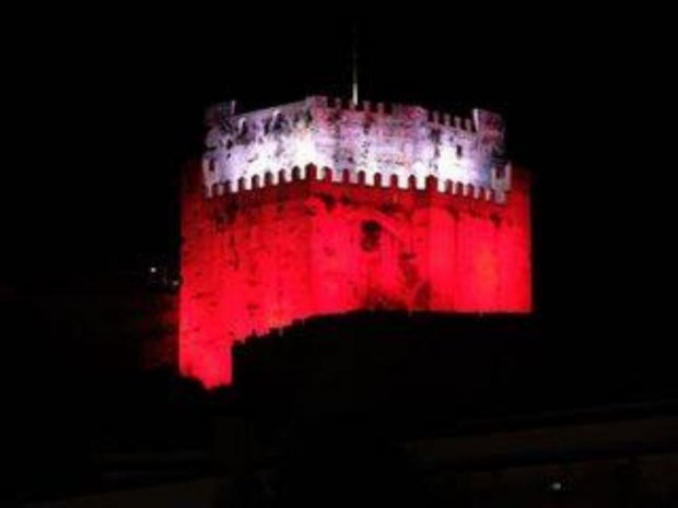 Moorish Castle will go red and white to mark National celebrations
