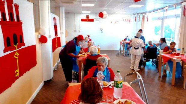 PHOTOrama: GIBRALTAR'S SENIOR CITIZENS CELEBRATED THE DAY
