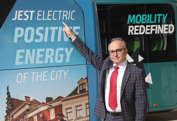 Test of new electric buses
